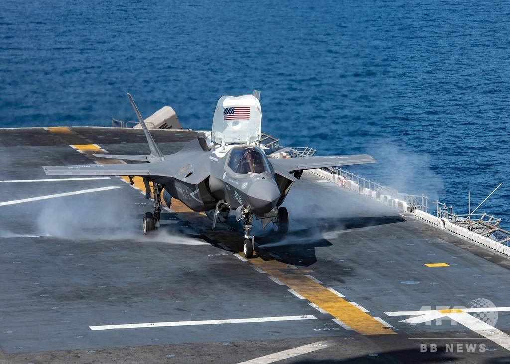 F35戦闘機、全世界で飛行停止 初の墜落事故受け 米国防総省