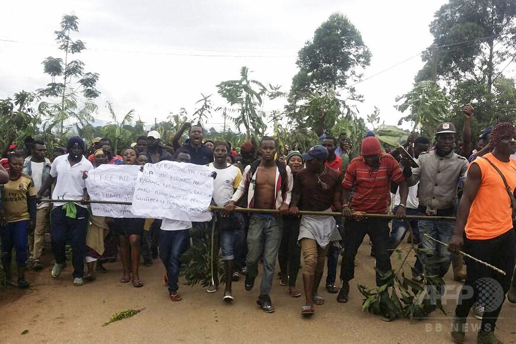 カメルーン英語圏独立派、治安部隊員ら180人超殺害 政府が報告書