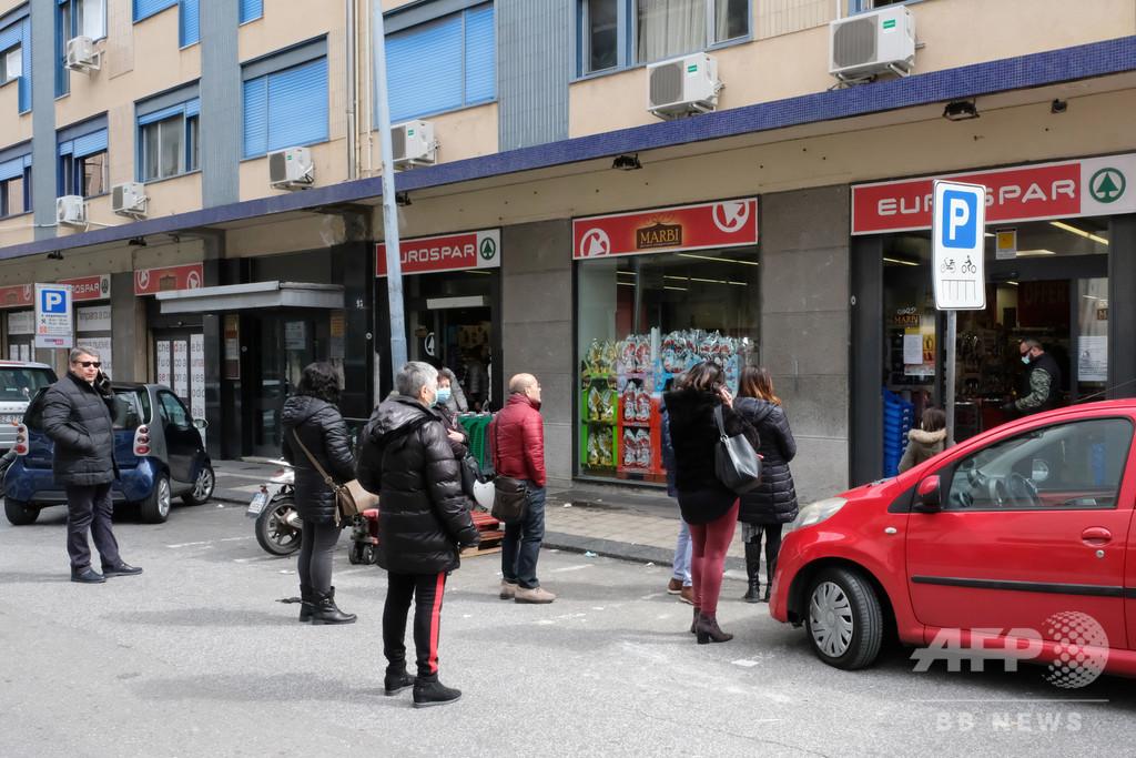 金に困った住民らがスーパーで略奪 「食べていかねば」とも 伊シチリア