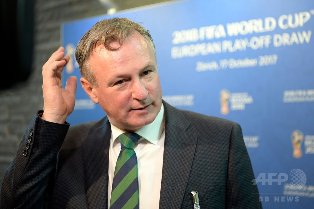 北アイルランド代表監督、W杯PO前に処分 9月に飲酒運転
