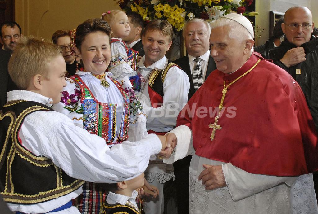 ローマ法王、訪問先オーストリアで妊娠中絶や安楽死を非難