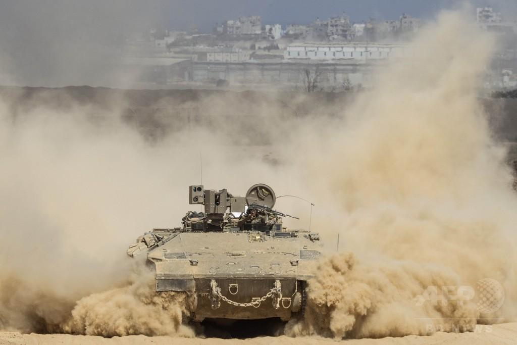 ガザ戦闘の死者、イスラエル軍33人に パレスチナ側800人超