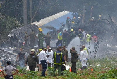 キューバで旅客機墜落、乗客乗員110人 死者100人超か