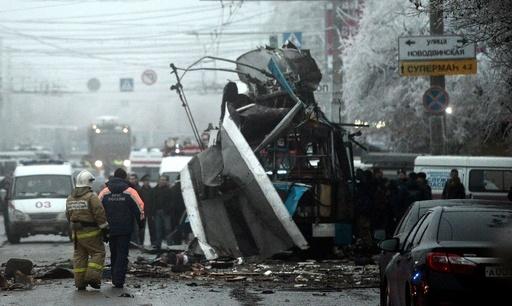ロシア南部ボルゴグラードでまた爆発、10人死亡