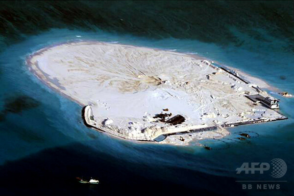 南シナ海の中国滑走路「ほぼ完成」、米シンクタンク