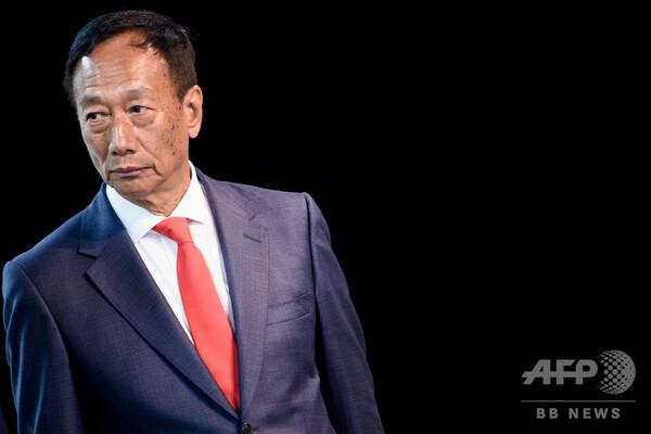 鴻海の郭会長、台湾総統選への出馬を検討 国民党を支持