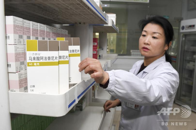 中国で抗がん剤17種が医療保険の対象に 患者負担75%軽減