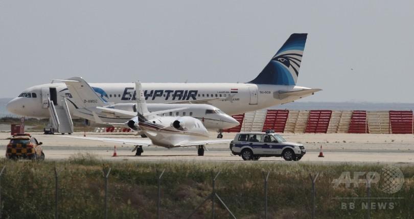 エジプト機ハイジャック、テロとの関連はなし キプロス大統領