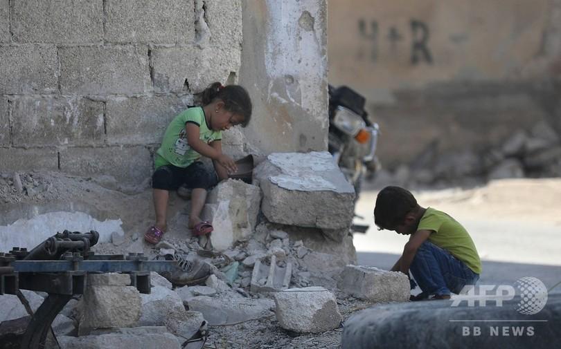 シリア・イドリブ、7000人が避難先から戻る 総攻撃回避で