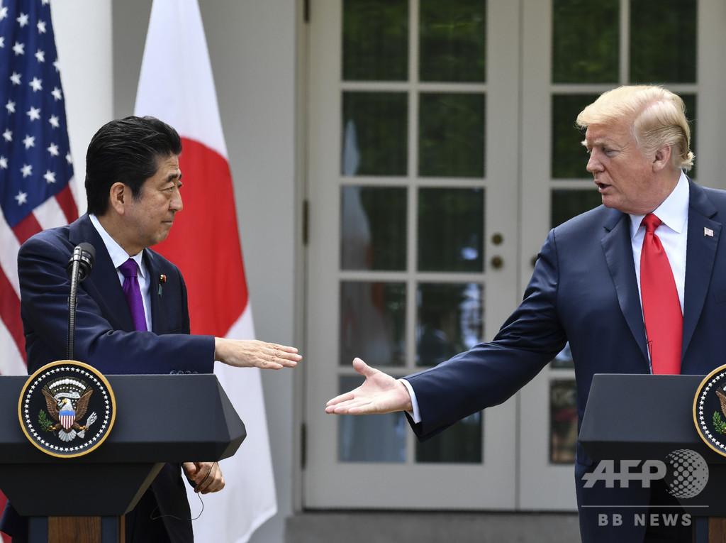 トランプ氏、次の標的は日本か 貿易赤字削減の意向と米紙