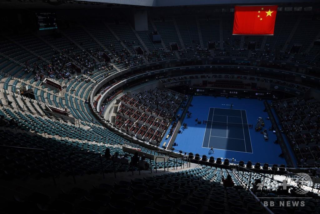 マレーが中国OPの雰囲気に失望感、ビッグマッチでも空席目立つ