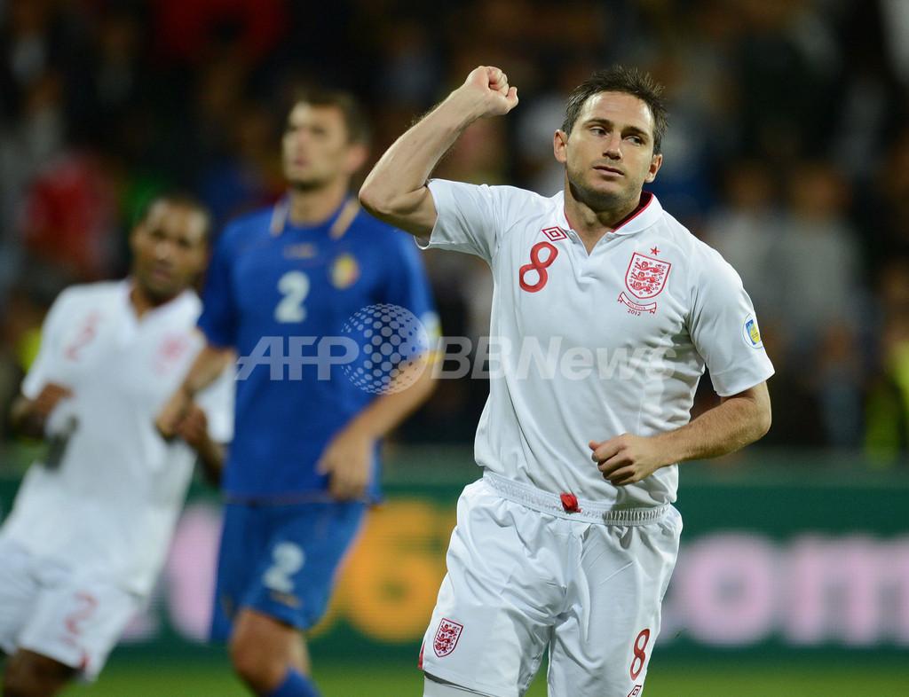 イングランドが格下モルドバに圧勝、W杯欧州予選