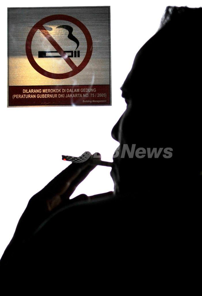 喫煙習慣に遺伝子の影響、英科学誌
