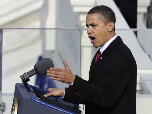 オバマ新米大統領の就任演説要旨