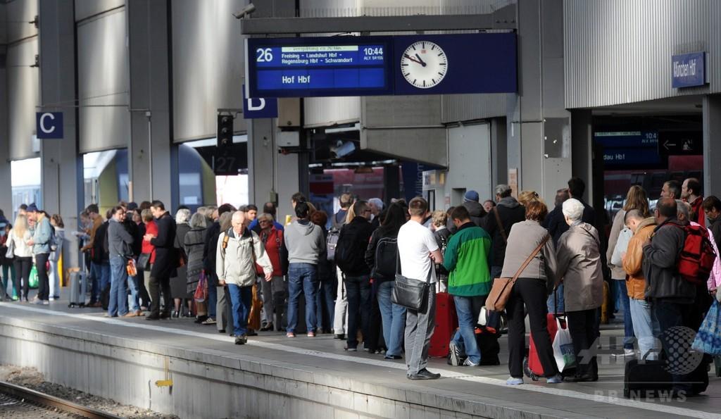 ドイツ鉄道の運転士労組、秋休みシーズンに大規模スト