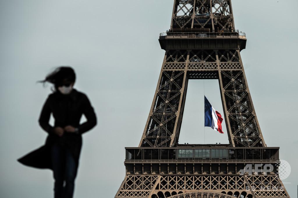 パリ市全域でマスク着用義務化、コロナ感染拡大