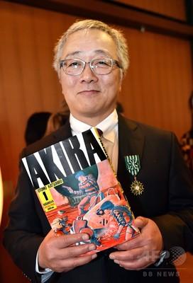 大友克洋さんに最高賞、仏国際コミック祭