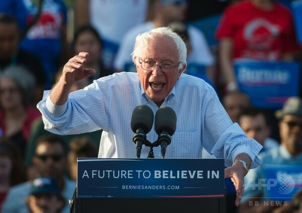サンダース氏、撤退せず=民主党の態勢構築に遅れも-米大統領選