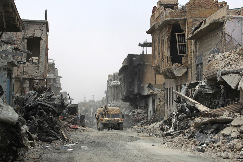 IS、モスル奪還戦中に民間人741人「処刑」 国連報告書