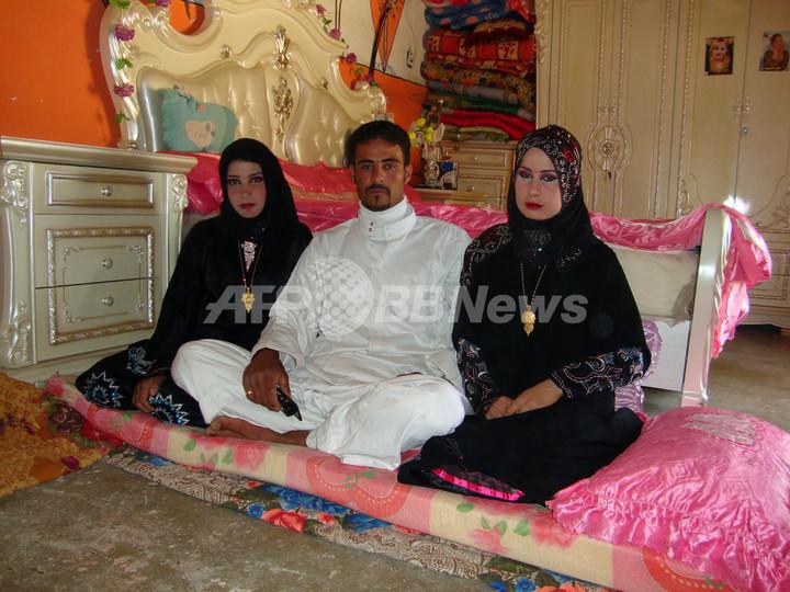 2人の女性を愛したイラク人男性、2人と同時婚