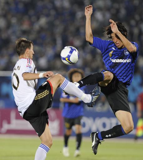 G大阪全勝ならず、8強懸け川崎戦へ アジア・チャンピオンズリーグ