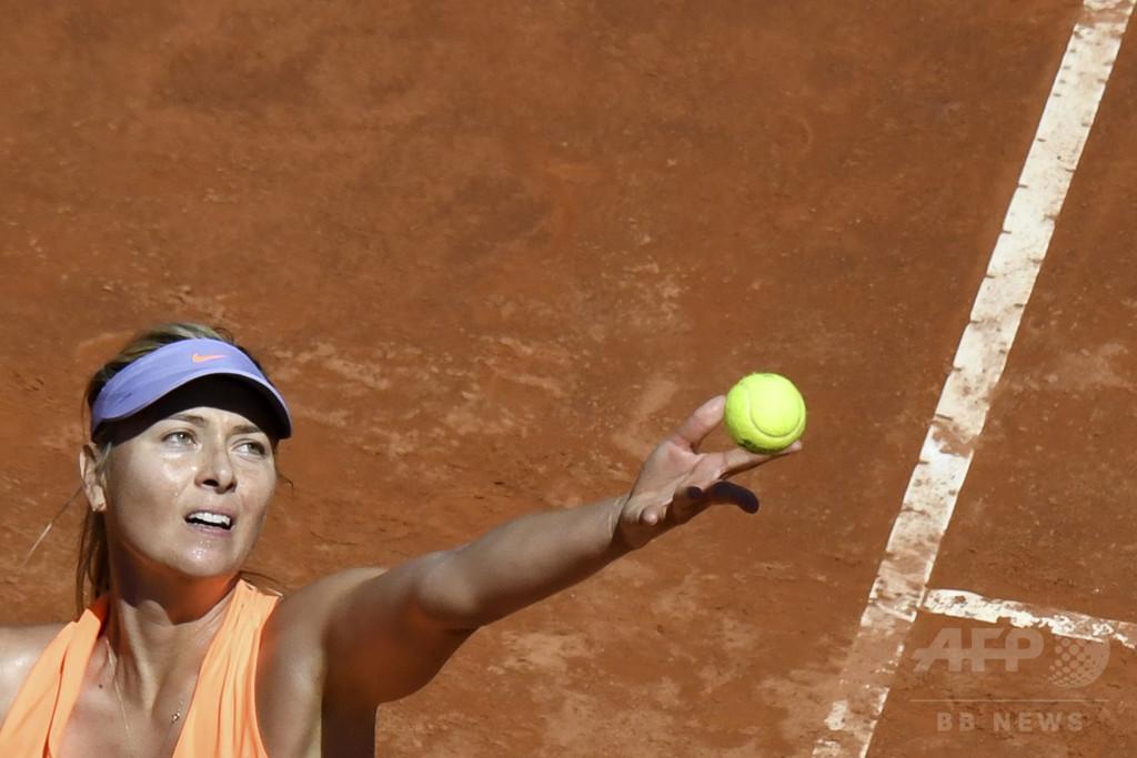 シャラポワ、出場停止処分で「テニスへの情熱は強くなった」