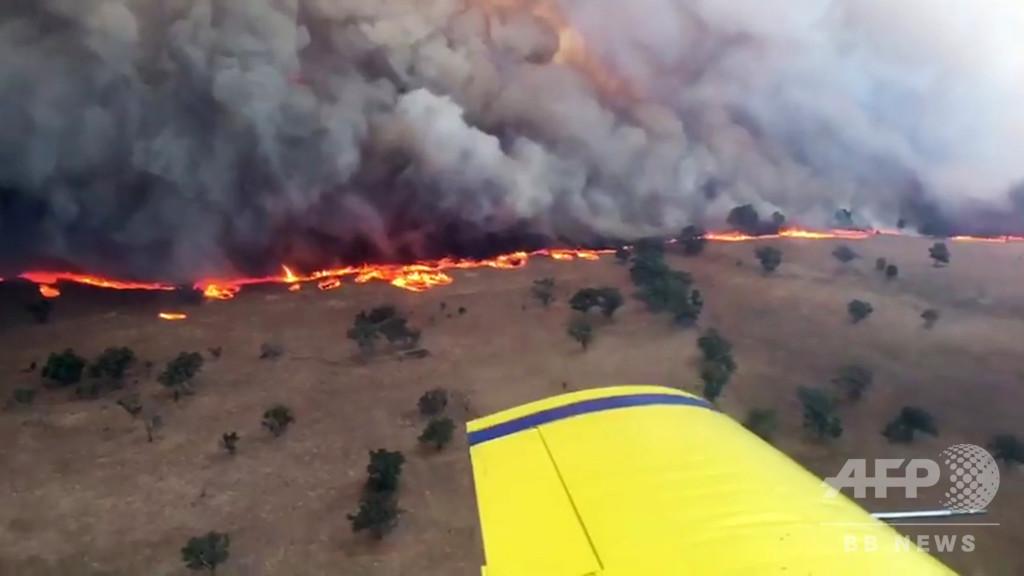 例年より早く林野火災のシーズン、過去数十年で最悪になる恐れ オーストラリア