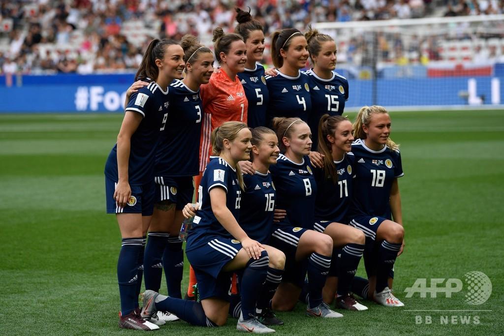 女子W杯初出場のスコットランド監督、「非常にタフ」となでしこ評価