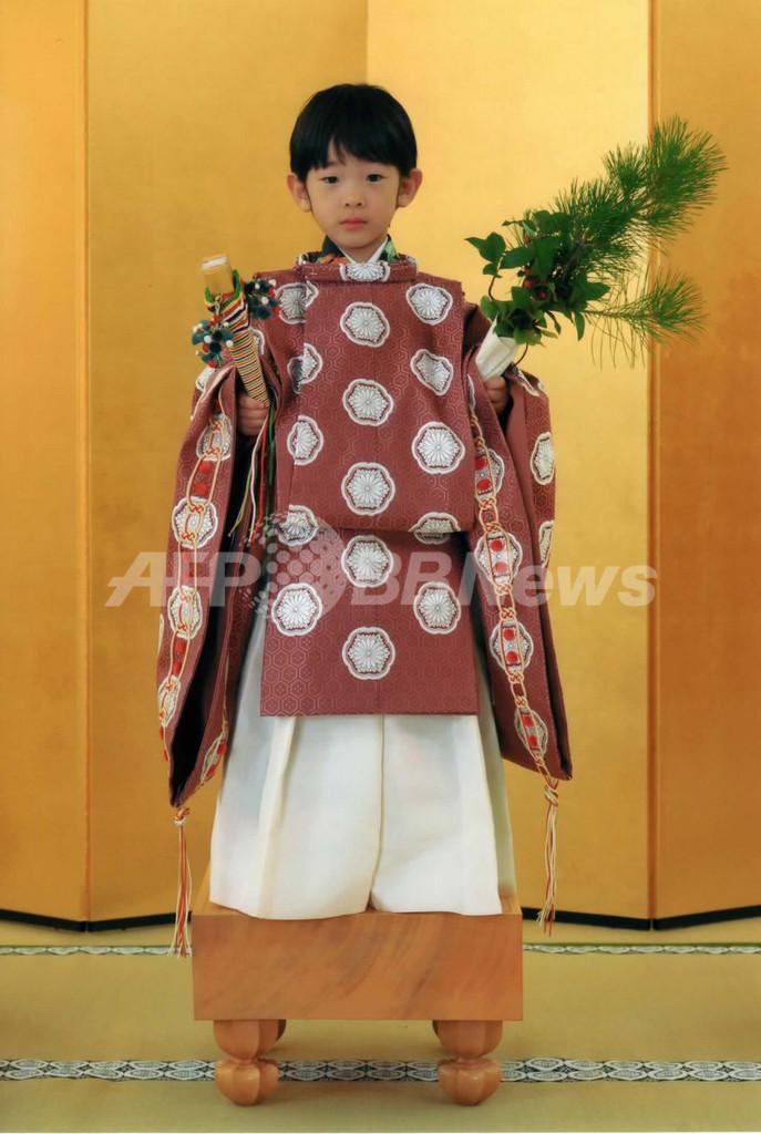 5歳の悠仁さまが「着袴の儀」