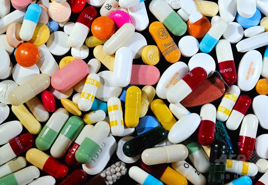 米国の薬物過剰摂取が「大流行レベル」に、傷害死因のトップ