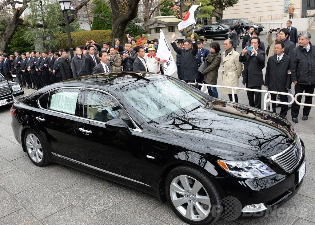 安倍首相の靖国参拝に「失望している」、米大使館が声明