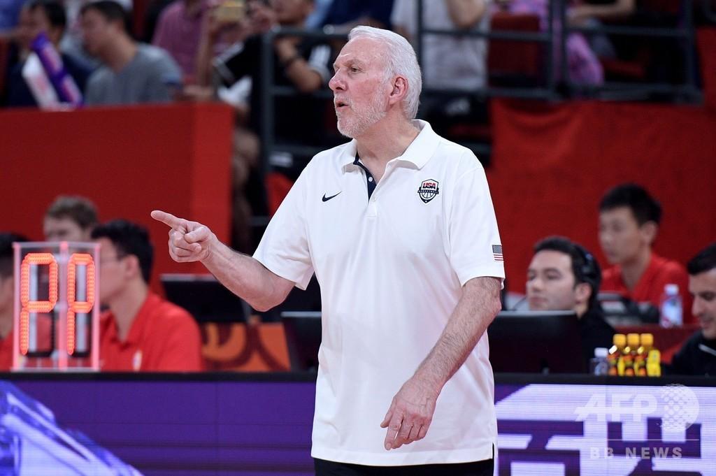 バスケ米国代表が東京五輪の出場権獲得、指揮官「非常にうれしい」
