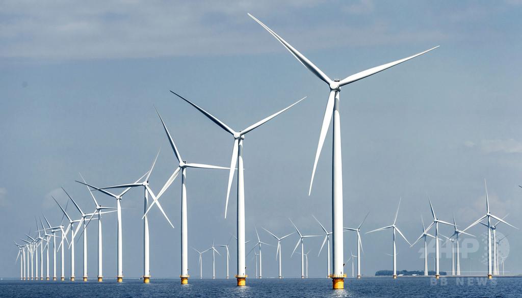 オランダの列車、全て風力発電で運行 1年前倒し実現