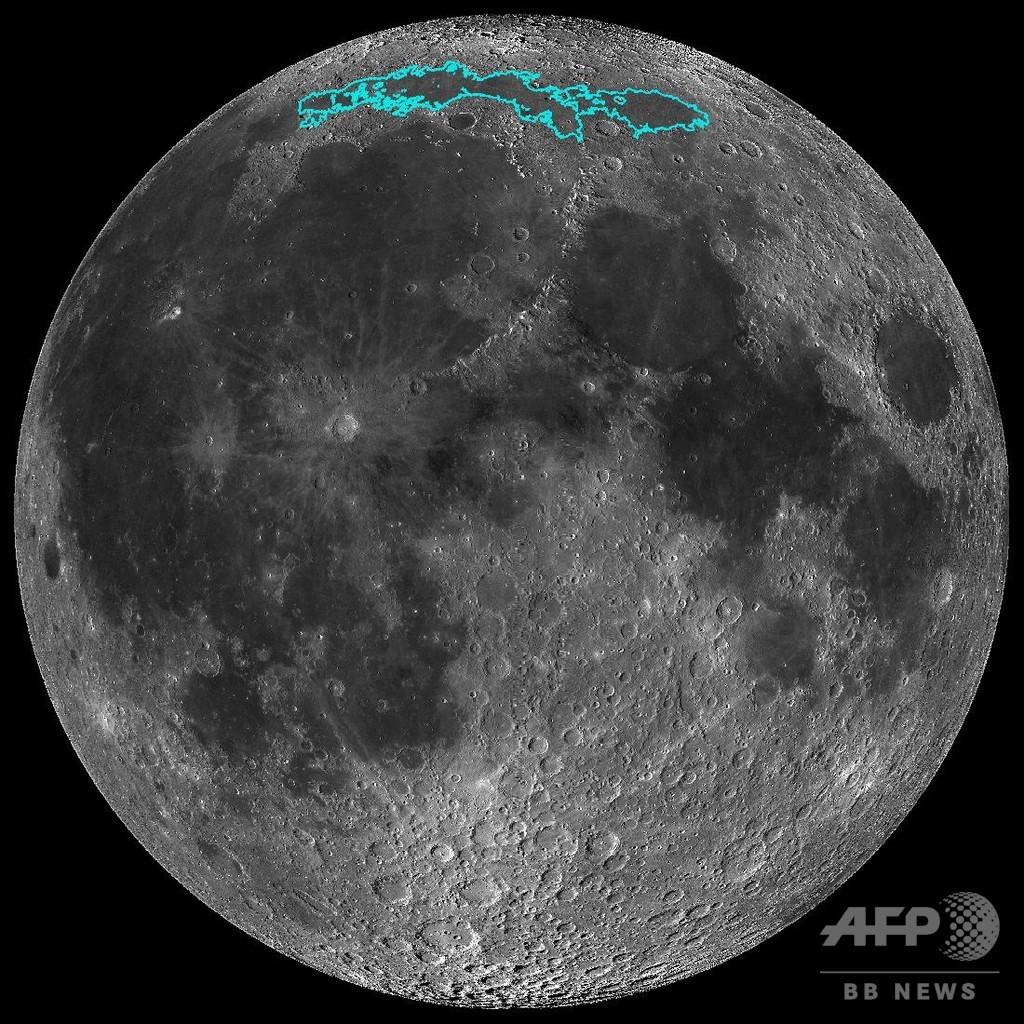 月は縮んでいる…NASA無人探査機撮影の画像で判明