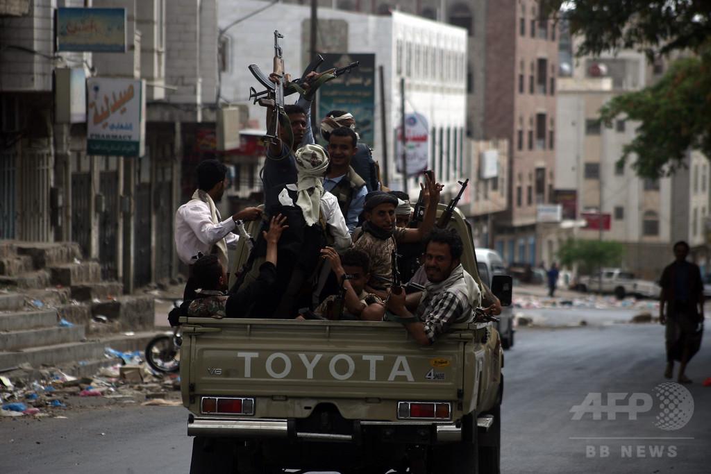 イエメン南部でフーシ派が砲撃、停戦発効直後