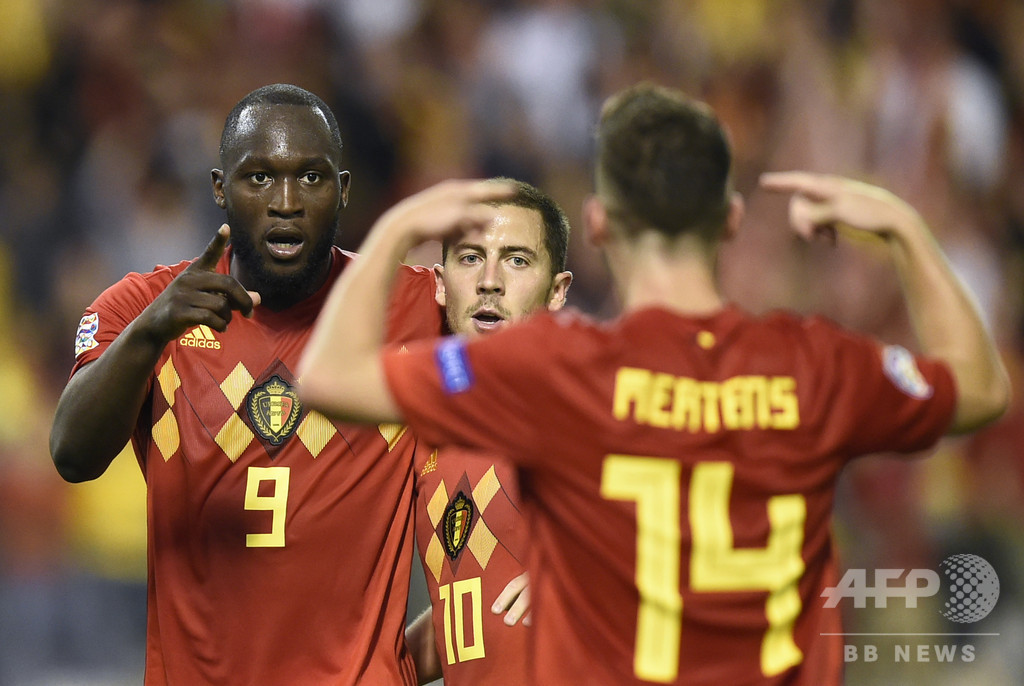 ベルギー、ルカクの2発で欧州NL開幕2連勝