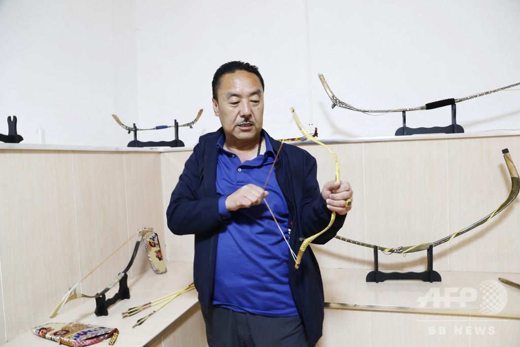 チベット伝統の「牛角弓」の工房を訪ねて 中国・青海省
