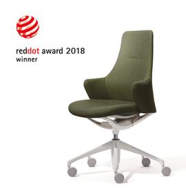 オカムラの「Lives」ワークチェアが2018年 ドイツ 「レッドドットデザイン賞」受賞