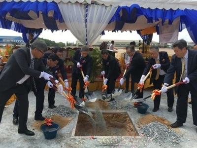カンボジア日通、プノンペン経済特別区に新倉庫を建設
