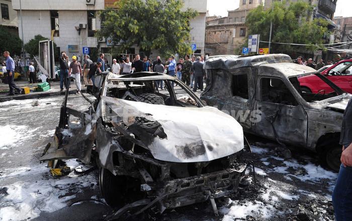 ブラヒミ特別代表、シリアのアサド大統領と会談 停戦を呼びかけ