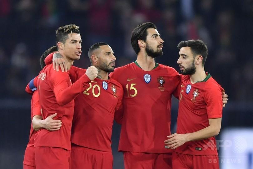 ポルトガルがエジプトに逆転勝利、ロナウドが最終盤に2得点