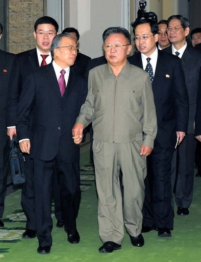 金総書記、中国国務委員と平壌で会談