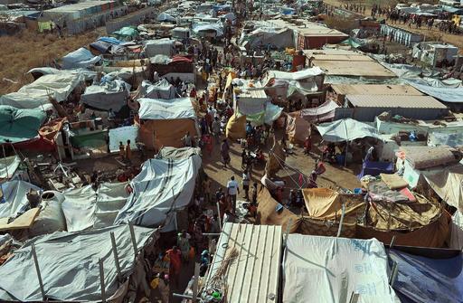 南スーダンの国連施設襲撃で少なくとも58人死亡