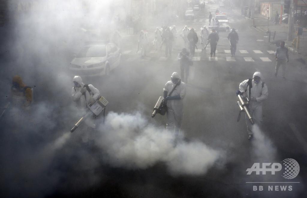 イラン、新型ウイルス対策で外出禁止へ 全国民の感染状況を確認
