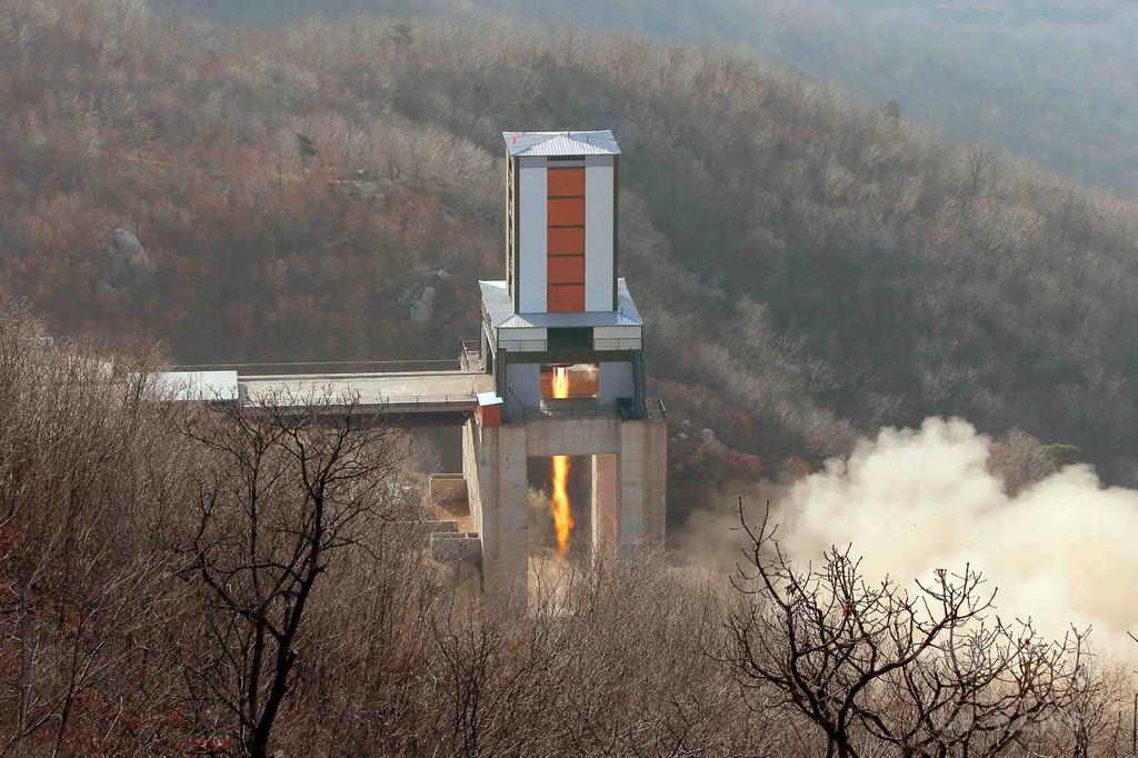 北朝鮮、新型高出力ロケットエンジンの地上実験に成功