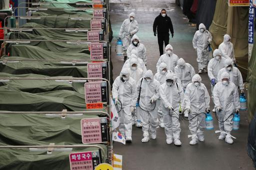 韓国の感染者、161人増え計763人超に 新たに2人死亡
