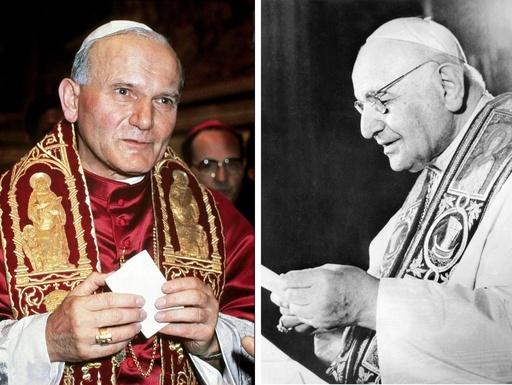 ローマ法王2人、来年4月に異例の「聖人」同時認定