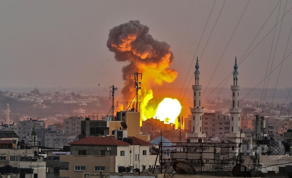イスラエル軍、ガザに「大規模攻撃」 兵士射殺に応酬