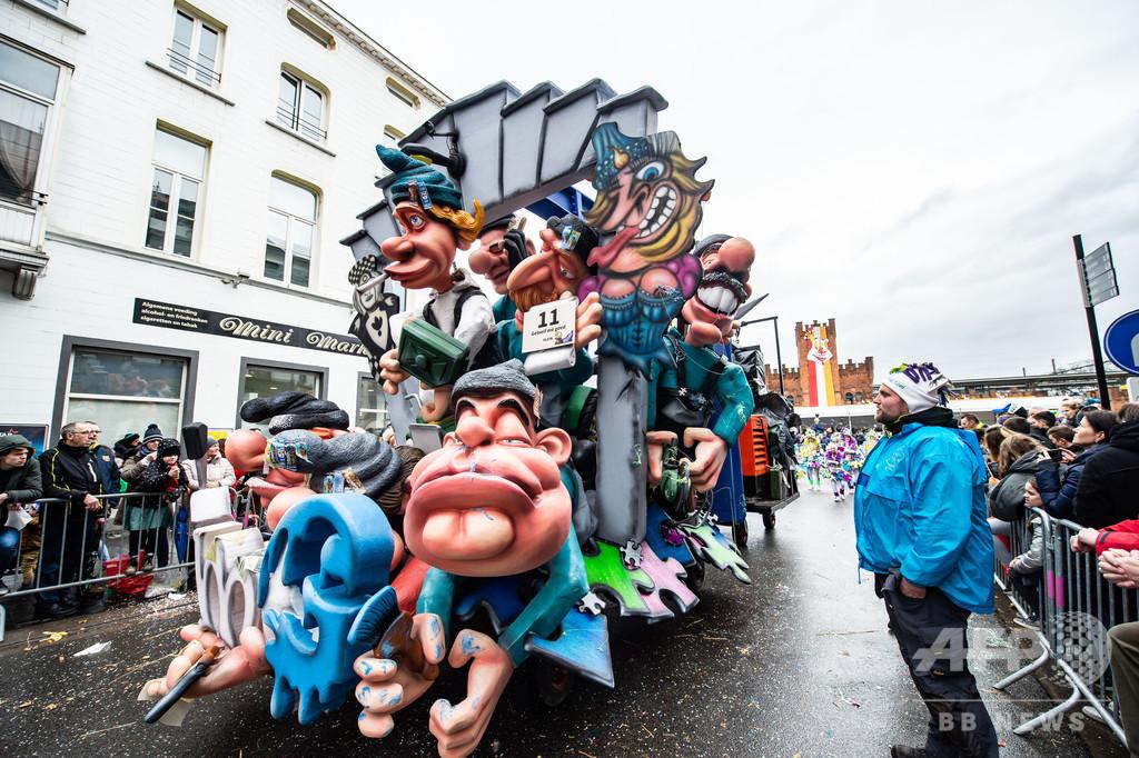 ユネスコ、ベルギーのカーニバルの世界遺産登録を抹消 「反ユダヤ主義」