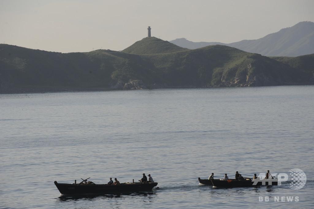 ロシア、北朝鮮の漁師161人拘束 日本海で密漁